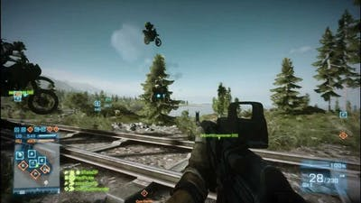 Battlefield 3. End Game by =W=ClanGamers (HD)