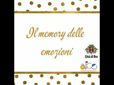 Il memory delle emozioni.