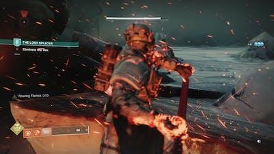 Destiny 2 Beyond Light - The Lost Splicer: Reach Rendezvous Point: Eliminate Vex Quantum Hobgoblin