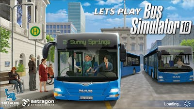 Bus Simulator 16 - Lets Play - Episode 15 (Creating A Tourist Route)