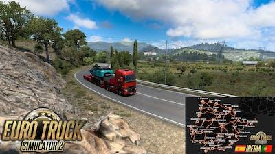 ✅ Iberia DLC First Look | Euro Truck Simulator 2 | A Coruña to O Barco | Logitech G27 +TrackIR 5 Pro