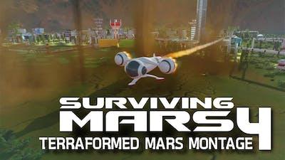 Surviving Mars - Terraformed Mars montage #4