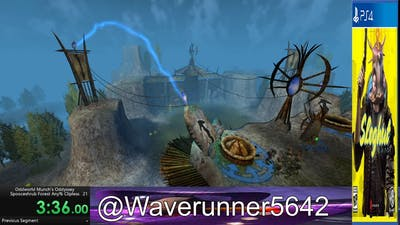 (No FPS Counter) Spooceshrub Forest any% Clipless in 5:41 (Oddworld: Munch's Oddyssey)