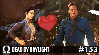 ASH FINDS HIS TRUE LOVE! (Evil Dead DLC) | Dead by Daylight DBD #153 Trapper / The Shape