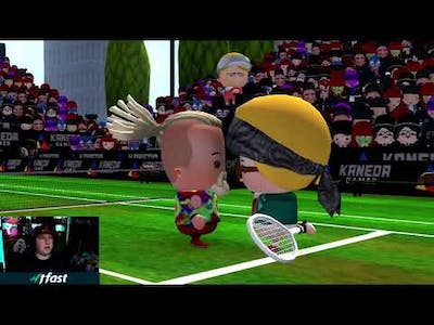 Smoots World Cup Tennis Nintendo Switch Gameplay