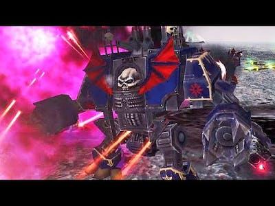 ECHO OF HERESY | Night Lords vs Salamanders! - Warhammer 40K: Dawn of War Soulstorm