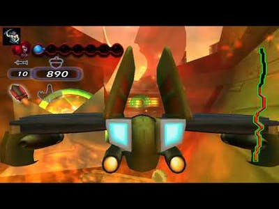 Disney's Chicken little ace in action Walkthrough Gameplay The moon Mission 5 Game Over
