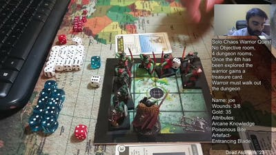 Warhammer Quest (1995) Solo. Smh