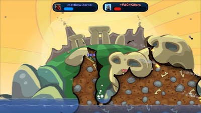 Worms Reloaded Game1
