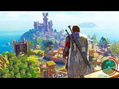Middel earth Shadow of War Mystic Stronghold  Lvl-46 Dominion Gameplay ||