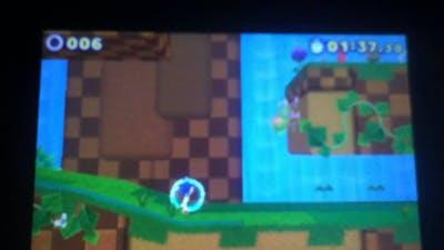 Sonic Lost World (3DS)- Electric Shield Glitch