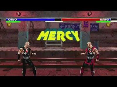 Ultimate Mortal Kombat 3 - Animality Demonstration