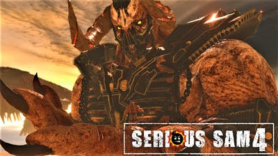 SERIOUS SAM 4 - Final Boss Fight & Ending