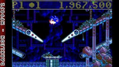 Game Boy Advance - Sega Smash Pack - Sonic Spinball © 2002 THQ - Gameplay