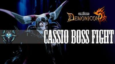 The Dark Eye Demonicon - Cassio Boss Fight [Hard Mode]