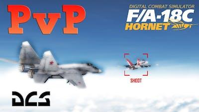 DCS: PvP Mig-29s Vs F-18 Hornet 3 Round Duel/Fight
