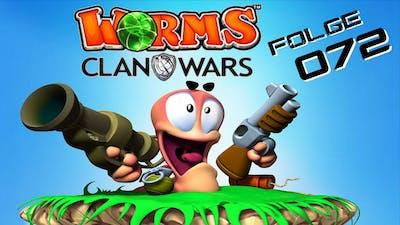 Du stehst auf meinen Eiern!! ✦ Worms Clan Wars [072] ✦ Let's Play Together Deutsch