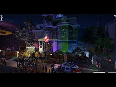Ghostbusters The Sedgewick Hotel- Planet Coaster