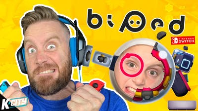 BIPED is Driving us cRAzY! (Nintendo Switch Family Battle) K-CITY GAMING