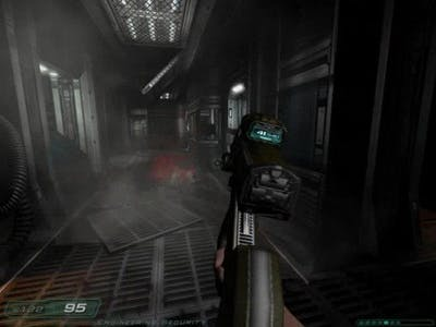 Doom 3 Gameplay - Alpha Labs