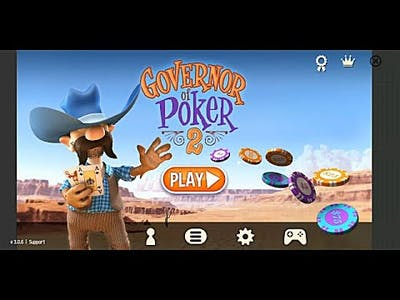 Let's play, Governor of Poker 2, Android Game