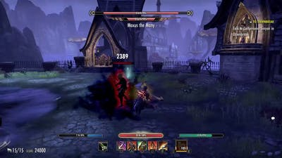 Eso: Don't try to tank Vma