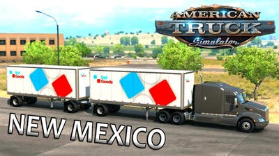 American Truck Simulator: New Mexico DLC Timelapse Gameplay