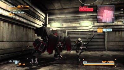 Metal Gear Rising - GRAD boss New Game/No Upgrades/Original Lifebar/Very Hard