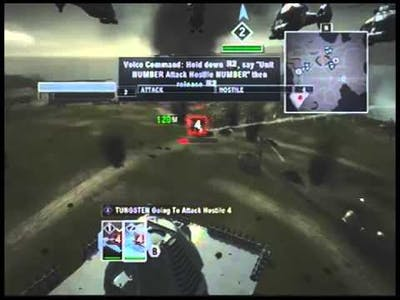 Tom Clancy's End War walkthrough part 1