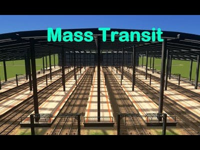 What is the mass transit DLC in cities skylines