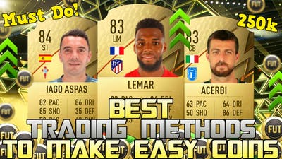 BEST TRADING METHODS TO MAKE EASY COINS ON FIFA 22! MAKE YOUR FIRST 500K COINS ON ULTIMATE TEAM!