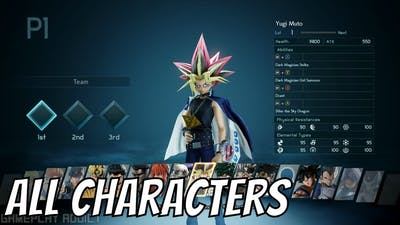Jump Force All Characters List
