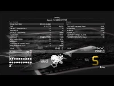 METAL GEAR SOLID V: THE DEFINITIVE EXPERIENCE - Close Contact - S Rating