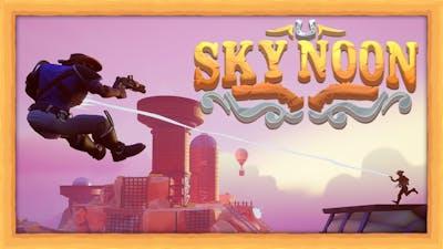 AIR POWERED COWBOYS!! - Sky Noon (4 Player Gameplay)