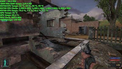 Braswell Pentium N3700 Gaming: STALKER: Shadow of Chernobyl @ 720p
