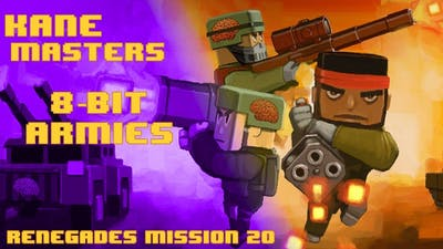 8-Bit Armies Renegade Campaign Mission 20 - Star Crusher