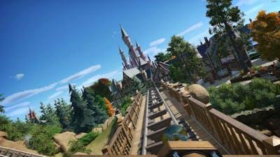 Seven Dwarfs Mine Train - POV & Offride - Planet Coaster