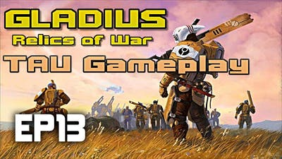 So close... | Gladius Relics of War TAU | Tau vs Tyranid IMPOSSIBLE DIFFICULTY | EP13