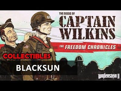 Wolfenstein 2 DLC - The Deeds of Captain Wilkins: Blacksun (Collectibles)