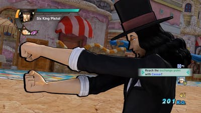 One Piece Pirate Warriors 3 Lucci Level 100 Gameplay