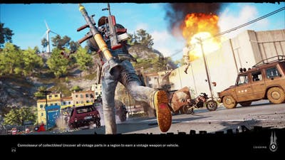 Just Cause 3 SKY FORTRESS DLC|eDEN's air fortress