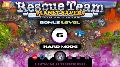 Rescue Team 11 - Bonus Level 6 Walkthrough (Planet Savers)