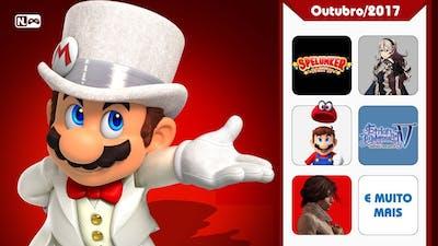Take My Money - Super Mario Odyssey, Fire Emblem Warriors e mais! (Lançamentos de 16/10 a 31/10)
