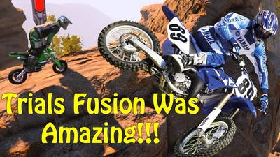 Trials Fusion Was An Amazing Game - Funny Multiplayer Moments!