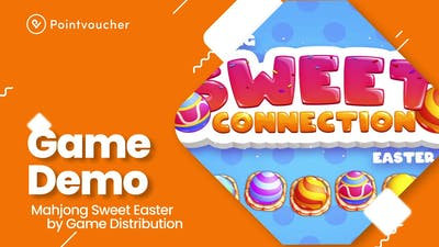 Mahjong Sweet Easter - Game Demo by Pointvoucher.com