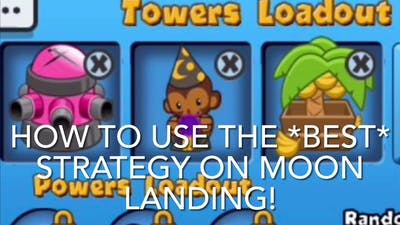 How to use the *BEST* Strategy on Moon Landing - BTD Battles