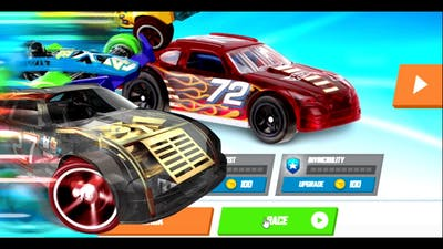 Hot Wheels cars race Game for Kids