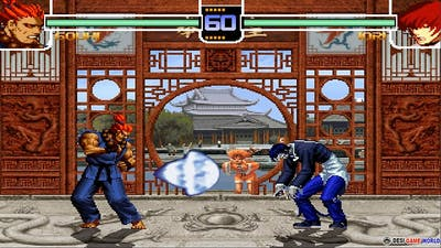 The king of fighters 2002 - Hack Shin Akuma 2021