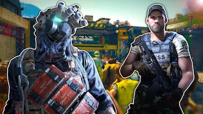 OB & I Must Defend a Fort From MILLIONS of Zombies! - World War Z Multiplayer Update Gameplay