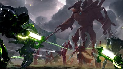 Cinematic introduction to the Eldar (lore of the Warhammer 40,000 universe).